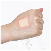 Band Aid Waterproof Plester Plaster Luka Hansaplast PE Cream Kotak