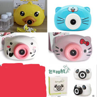 Mainan Bubble Camera / Kamera Gelembung