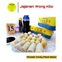 Pempek Candy Khas Asli Palembang Original Paket Besar