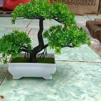 bonsai sintetis aquascape berpot