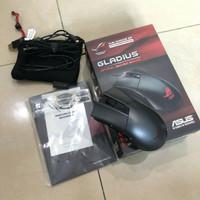 Mouse Gaming Asus ROG Gladius Wired fullset lengkap no minus