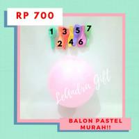 Balon Pastel Balon Latex Ulang tahun Balon macaron - 7