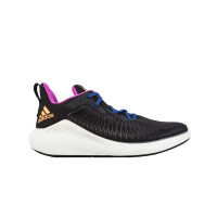 ADIDAS ALPHABOUNCE+ BLACK REAL GOLD - G54125