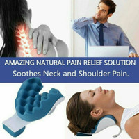 Bantal relaksasi sopir mobil nonton tv terapi nyeri punggung leher