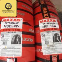 1 Set Ban Motor Maxxis Extramaxx 130/70 - 100/80 Ring 17 Tubeless