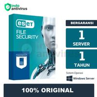 ESET File Security - 1 Tahun Antivirus Server Original