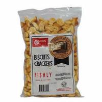 biskuit ikan nissin crackers TEXA kering gurih asin