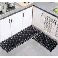 2in1 Kitchen Floor Mat / Keset Alas Lantai Rumah Dapur Anti Selip New