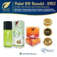 PAKET PENGHILANG BAU BADAN TERAMPUH.!! MENGHILANGKAN BAU KERINGAT SR12 - Deo premium