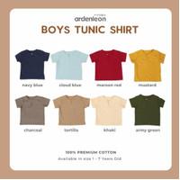 Ardenleon Raya Boy Tunic Shirt / Baju lebaran anak