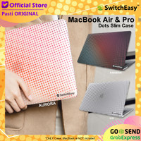 Case MacBook Air Pro 13 Inch SwitchEasy Dots Design Hard Casing - MB Air, Aurora