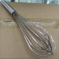 ballon whisk stainless steel tebal (14inch)