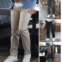 Celana chinos pria panjang slimfit/celana cino/celana chino-27/28cream