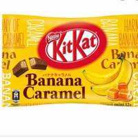 KitKat Banana Caramel Jepang