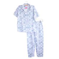 Baju Tidur/ setelan/ piyama import dewasa untuk perempuan - DWS 5, Grey