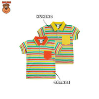 MacBear Baju Anak Laki-laki Kaos Polo Stripe-A-Holic Collection Vandi