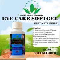 EYE CARE SOFTGEL GREEN WORLD/OBAT MATA MINUS/PLUS/KATARAK/GLAUKOMA