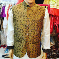 Baju India Pria Rompi Punjabi Sherwani Import Ori Made in India 002
