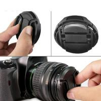 Lens Cover DSLR Camera Anti Lost Rope - Penutup Lensa Kamera Tali