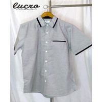 Adi Shirt/kemeja pria lengan pemdek merk sixpack