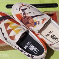 Sepatu Vans Slip On Moma Vanily Kadinsky Premium BNIB waffle DT