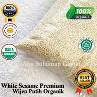 Biji Wijen Putih Premium /Natural White Sesame Seeds Premium 1 Kg