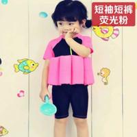 Lengan Pendek Baju renang ngapung XL sizes baju renang mengapung baju