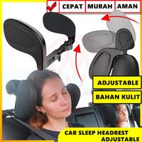 CAR SLEEP HEADREST BANTAL MOBIL SANDARAN KEPALA UNIVERSAL ADJUSTABLE