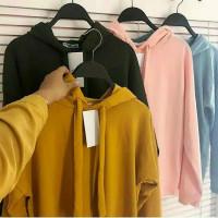 Sweater Hoodie Anak Remaja | Atasan Wanita Lengan Panjang - Pink