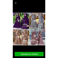 Baju gamis anak perempuan syari set cadar Shofiya kids Original by