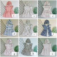 Aira Baby Dress 0-24 Bln Set Turban - Baju Anak Bayi Perempuan