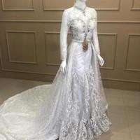 kebaya dress duyung baju wedding pengantin akad / resepsi