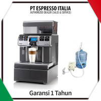 Saeco Aulika Top RI HSC Automatic Coffee Machine + Flojet Pump Garansi