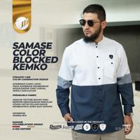 Baju Koko Kemko Busana Muslim Premium Pria Cowok SAMASE TDS-KM013