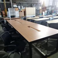 meja meeting kantor 160 cm