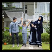 baju lebaran Baju Couple Keluarga Copel Muslim Lebaran Terbaru 2021