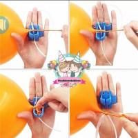 Windblown Balloon Latex Knotter/Alat Pengikat Balon Karet Lateks