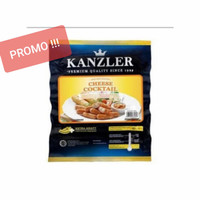 Sosis Kanzler CHEESE COCKTAIL 500gr isi 26 pcs (FROZEN FOOD) - vacum