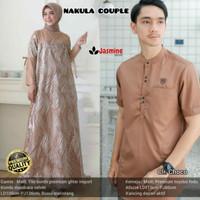 baju couple muslim gamis baju koko NAKULA COUPLE