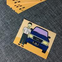 Sticker Artbox Isuzu Panther Kotak Kesayangan Koh Aliong