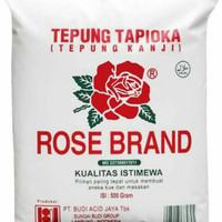Tepung tapioka tepung kanji Rose brand 500 gr