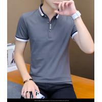 Baju Kaos Polo Pria Haban Bahan Cotton Combed Lenngan Pendek Terbaru