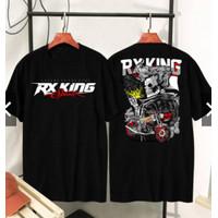 DaveFashion-Kaos Pria Kaos Distro RX KING SPIRIT LEGEND Black BC156