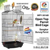 Kandang / Sangkar Burung Parrot Open Top MPY-3016B