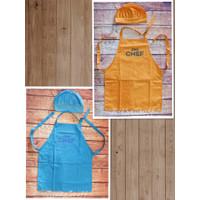 Paket Apron Anak Little Chef