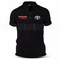 Polo shirt pria TDR toyota - Kaos Polo Pria Toyota kerah S - 6XL