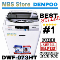 Mesin Cuci Denpoo 1 Tabung DWF 073 HT Top Loading 7 KG DWF073HT