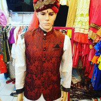 Baju India Pria Rompi Punjabi Sherwani Import Ori Made in India 001