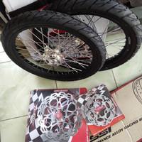 velg jari jari Honda Sonic 150 ring 17x140/140 plus ban