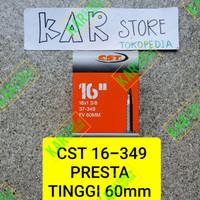 Ban dalam CST 16 349 16 x 1 3/8 FV60mm pentil presta 60mm